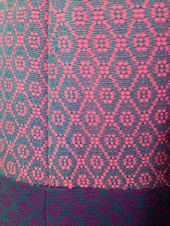 thai silk: Thai silk Stock Photo