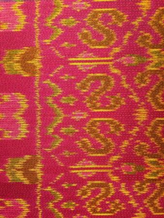 thai silk: Traditional Thai silk Stock Photo