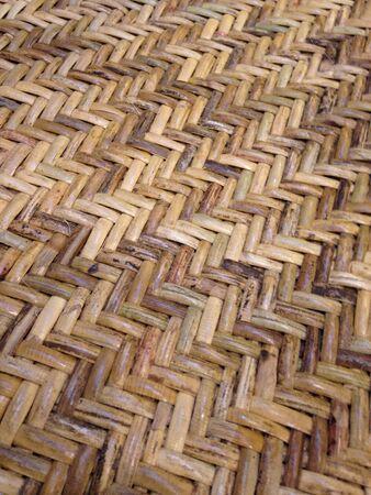 weave: Rattan weave pattern Stock Photo