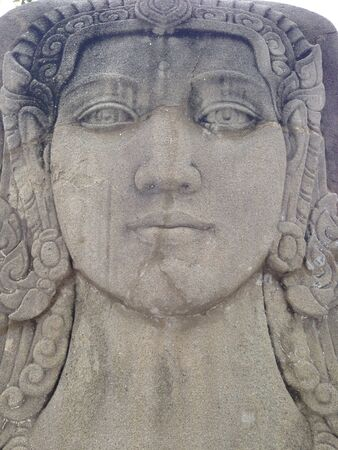 sandstone: Sandstone engraving