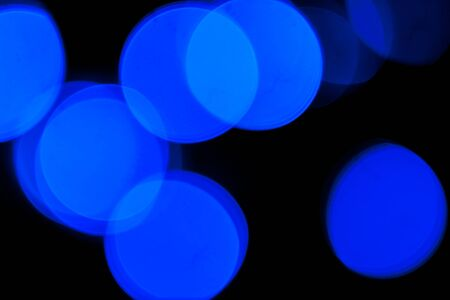 Blurred spots of lights bokeh for abstract color background Stock Photo