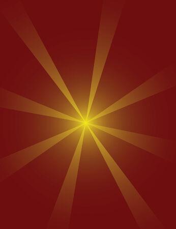 Starburst Achtergrond Stock Illustratie