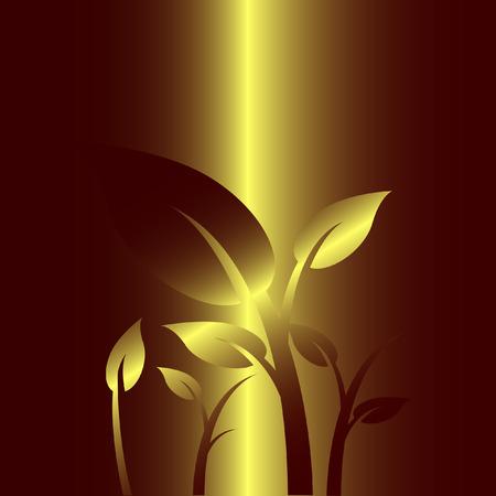 sorrel: Golden floral