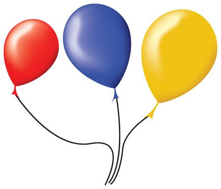 Los vectores de globos  Foto de archivo - 3614930