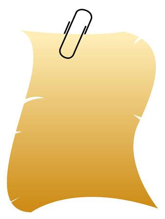 carta da lettere: Vecchia carta da lettere  Vettoriali
