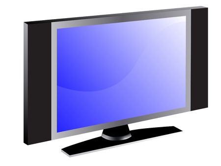 TV screen, editable vector illustration Stock Vector - 3622945