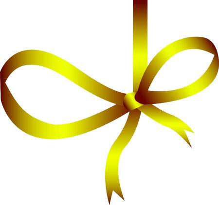 Gold ribbon Stock Vector - 3828512