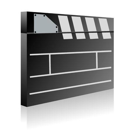 Film clapboard Vector