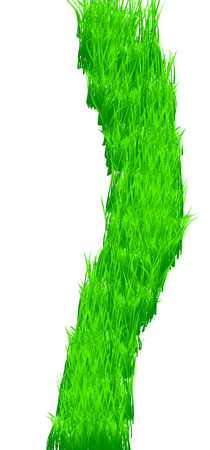 Green grass texture, vector illustration Vector