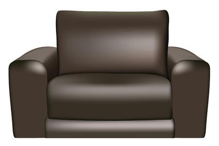 furnishing: Zwarte bank