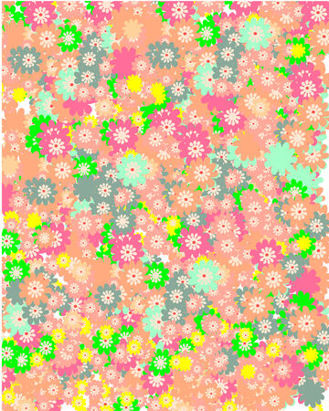 Colorful floral background Stock Vector - 4671508