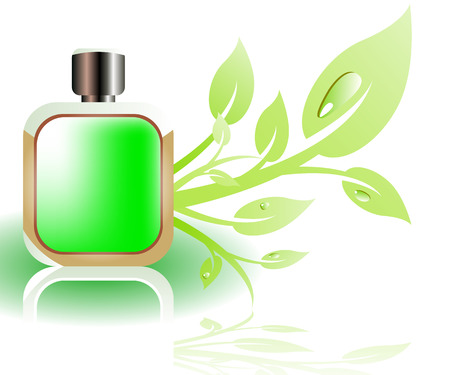 aftershave: Perfume bottle