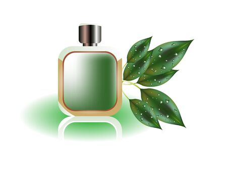 odor: Perfume bottle
