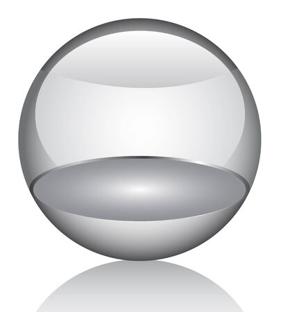 3d glossy orb Stock Vector - 6747768