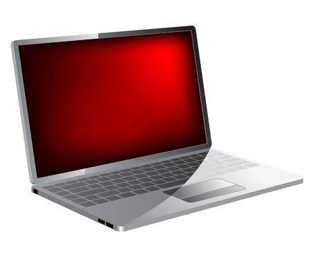 Realistic laptop icon  Stock Vector - 6833198