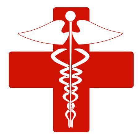 Medical caduceus Stock Vector - 6833138