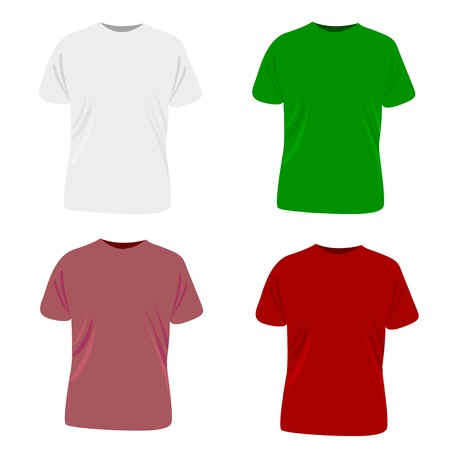 T-shirts collection  Illustration