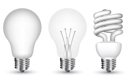 Collection of light bulbs  Stock Vector - 7100018