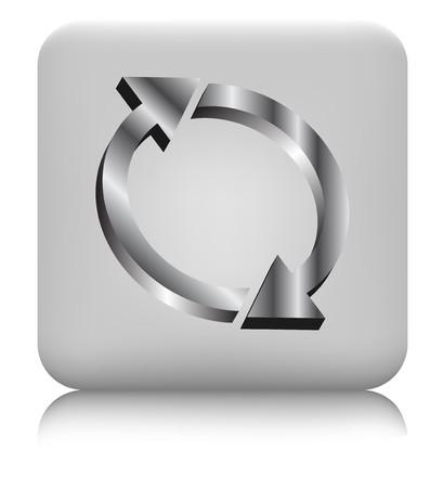 diminishing perspective: Arrow circle