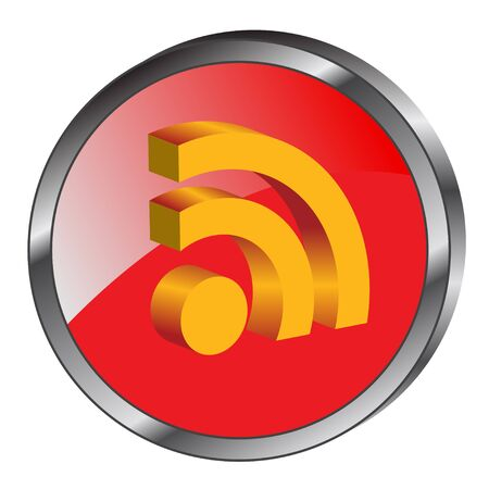 news update: 3d rss icon