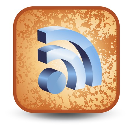 syndicate: 3d rss icon