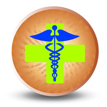 Medical caduceus Stock Vector - 7434392