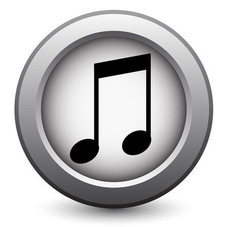 Icône de la musique  Vecteurs