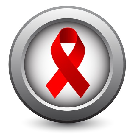 Red Support Ribbon  Vector