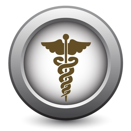 medical emblem: Medical caduceus