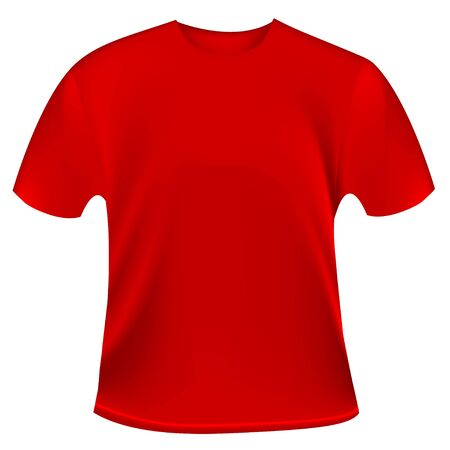 red tshirt:  t-shirt