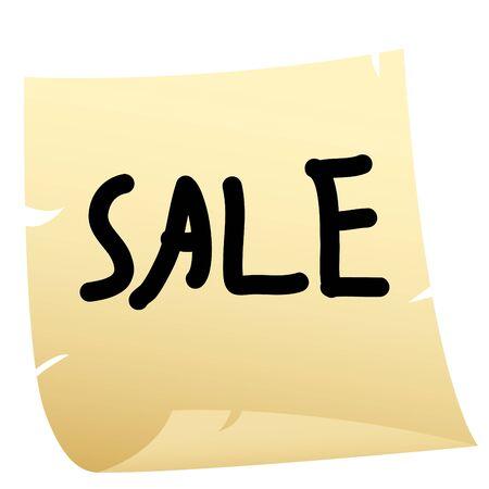 Sale sticker Stock Vector - 7919753