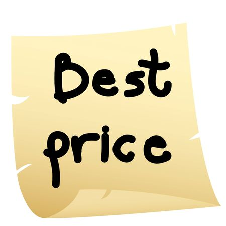 Best price sticker  Vector