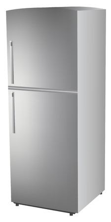 Refrigerator,  illustration Vector