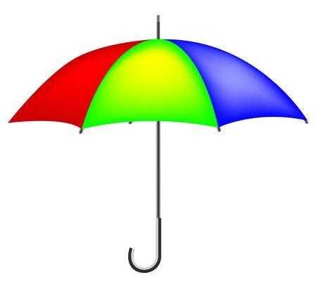 colorful umbrella Stock Vector - 8001619