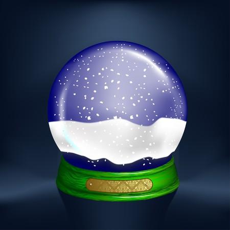 snow-globe Vector