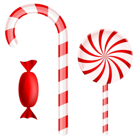 Christmas candy set Stock Vector - 8396766
