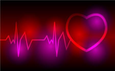 Heart cardiogram  Stock Vector - 8767096