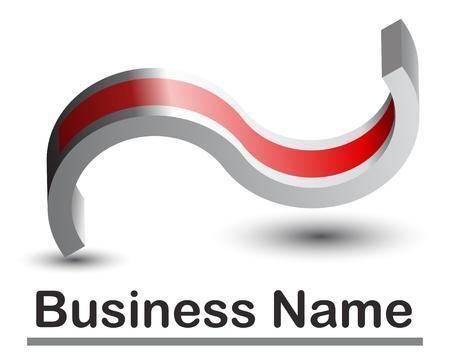 logotipo abstracto: logotipo abstracto 3D