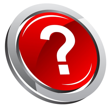 point d interrogation: ic�ne de question 3d