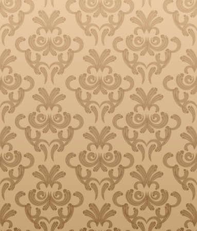 venetian victorian: Seamless vector wallpaper
