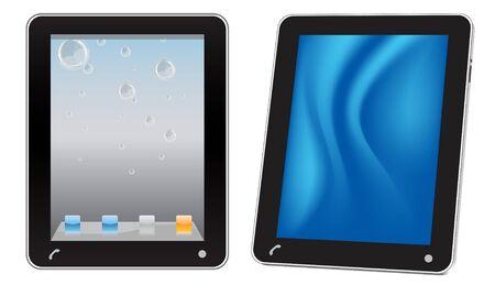 Touchscreen tablet computer Stock Vector - 9062335