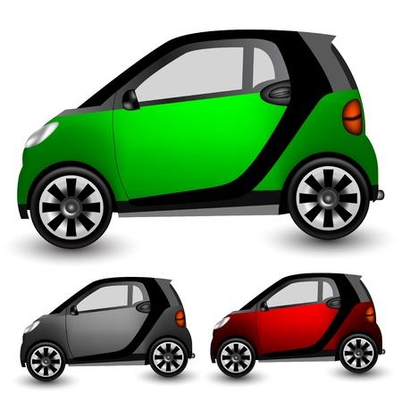 Small city car Stock Vector - 9062337