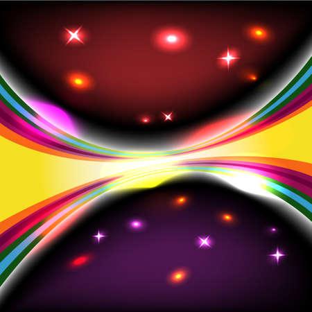 Dark glow background design - 1 Stock Vector - 9545396