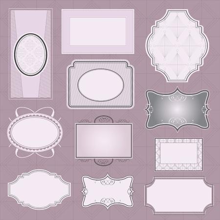 Ornate vector frames Stock Vector - 9998969