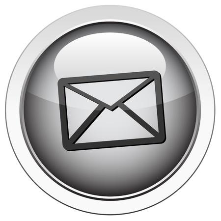chatbox: Envelope - email icon Illustration