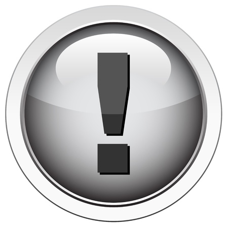 attention icon: Exclamation icon
