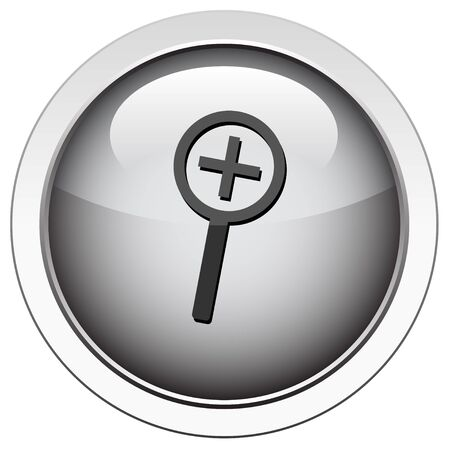 zoom in: Acercar icono
