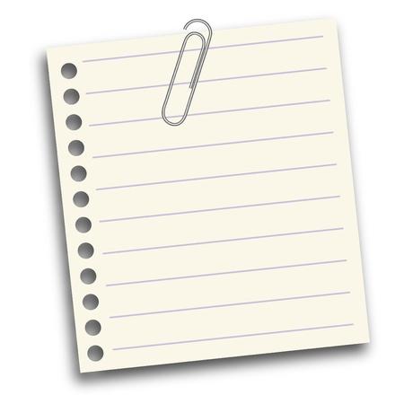 note de service: Papier � lettres blanc - 3