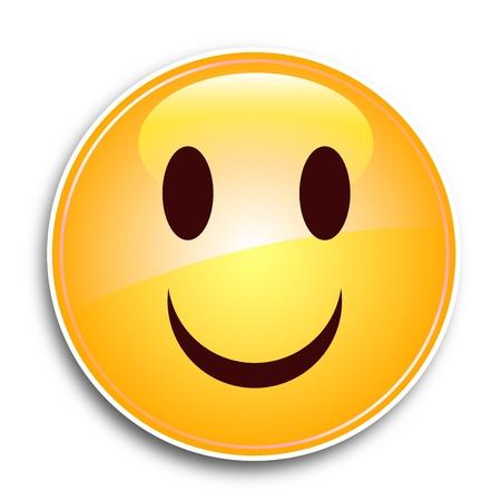 friendliness: Smile Face Illustration