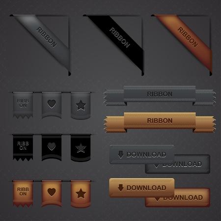 Moderne Proffesional Web Design Elementen